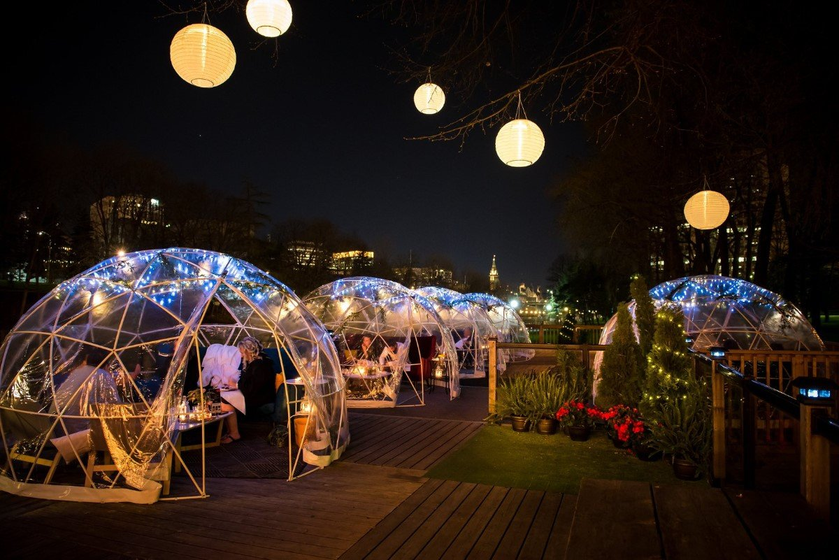 A unique dome dinner is coming to Calgary